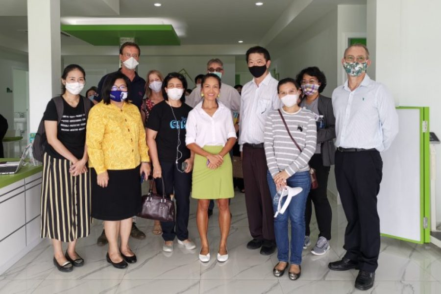 Thai Traditional Medicine visits Be Well Medical Center